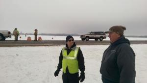 New Big Lake Trail Construction November 23 2014