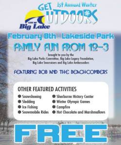 1st Annual Big Lake Winter Get Outdoors Days