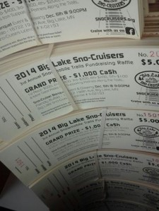 2014 Raffle Tickets are in